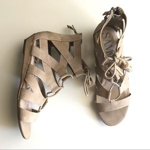 Sam & Libby Lace Up Sandal